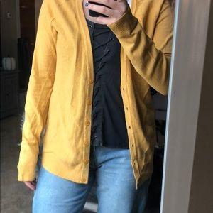 Target yellow sweater